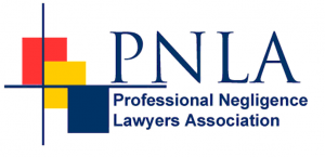 Barrister Negligence Claims. Professional Negligence Lawyers Association Logo